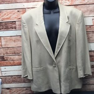 Lady A blazer jacket women's 12P dry clean Hg1014